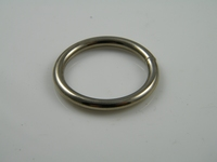 Ring, 3.5 x 25 mm, nickel plated