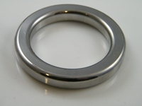 Squaire ring 50 mm  Chrome plated