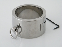 Heavy stainless steel bracelet/cuff 40mm