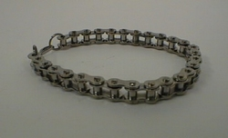 Bracelet chrome plated, small chain