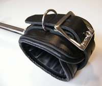 Spreaderbar with integral leather cuffs (60 cm)