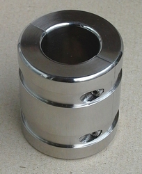 Ball stretcher with groves, height 70 mm, diam. 62 mm