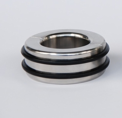 Height 25 mm, Connected with 2 pins, close by rubber ring
