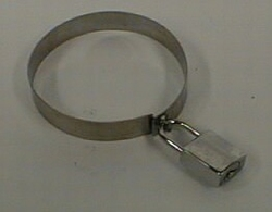Locking sets for stretchers (shiny padlock)