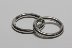Low cost cockring, round 8 mm stainless steel.